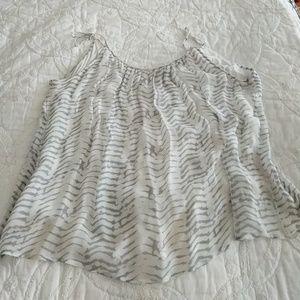 Joie Soft zebra print sz large